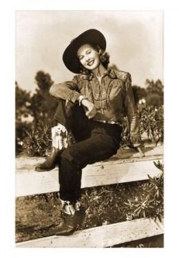 Vintage-Cowgirl